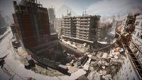 Un viaje aéreo sobre el epicentro del terremoto de Tehran en 'Battlefield 3: Aftermath'