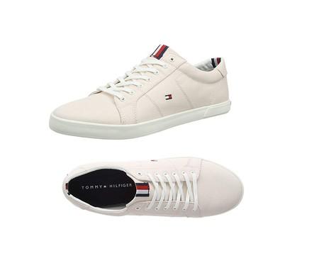 Por 41,95 euros tenemos las zapatillas Tommy Hilfiger Iconic Long Lace Sneaker en Amazon