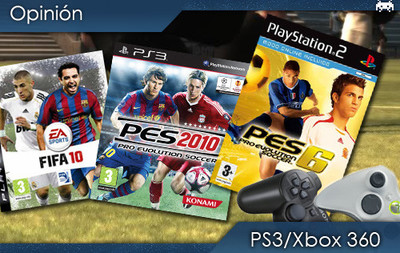 Ni 'FIFA 10' ni 'PES 2010', este año paso del fútbol electrónico y me vuelvo al 'PES 6'