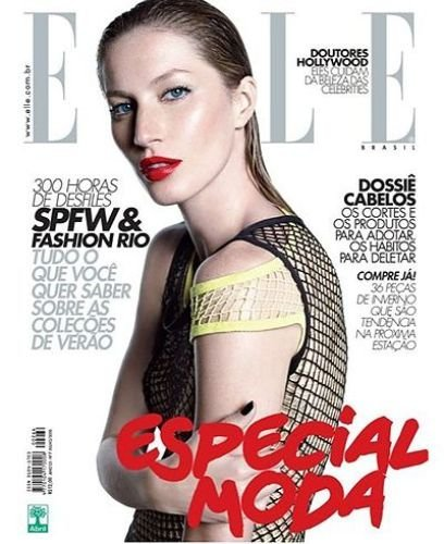 Gisele Bündchen demuestra una vez más en Elle que su belleza es especial