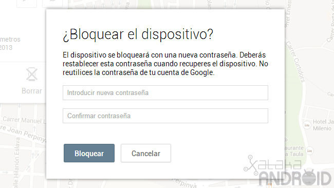 Administrador de dispositivos Android