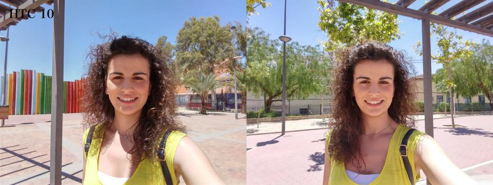 Selfie Htc 10
