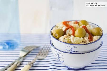 Receta de ensalada de patata y bonito