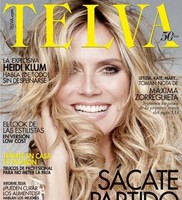 Heidi Klum hasta en Telva nos tiene que recordar lo guapa que es