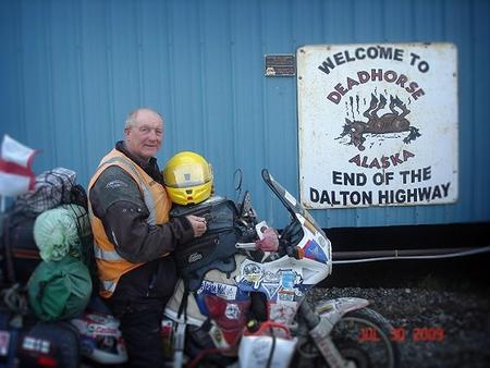 Ian Coates, en Alaska.