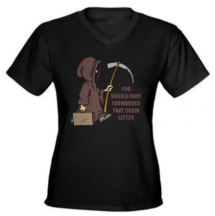 Camiseta Muerte al romper la cadena