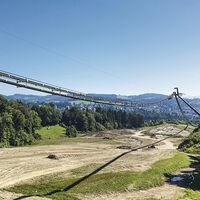 A grandes males, grandes cintas transportadoras: la de esta mina mexicana transporta 25.000 toneladas por hora