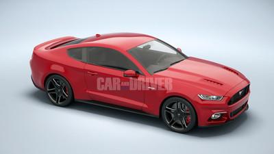 Car and Driver imagina el 2015 Ford Mustang, ¡brutal!