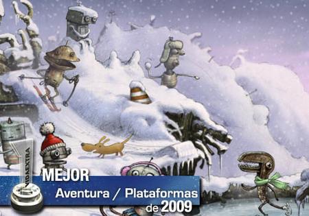 Mejor Aventura gráfica / Plataformas de 2009 en VidaExtra: 'Machinarium'