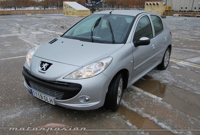 Peugeot 206+ 1.4i y HDi, prueba (parte 3)