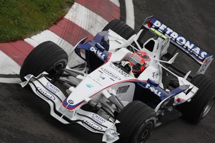 Histórica victoria de Kubica y doblete de BMW Sauber