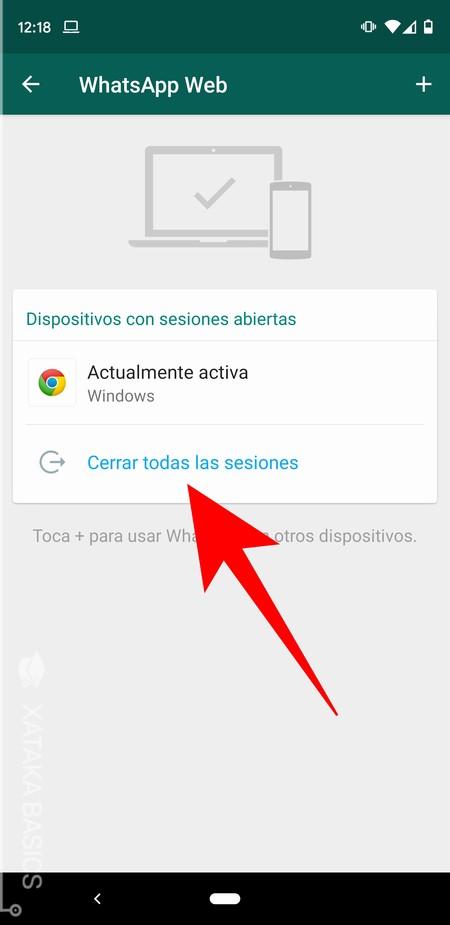 Cerrar Sesiones Android