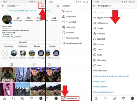 Como Cambiar Icono Instagram Menu Escondido 10 Anos Android Ios