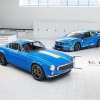 Volvo P1800 Cyan Racing, la marca sueca se carga de nostalgia y revive uno de sus deportivos más icónicos