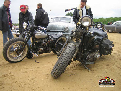 Bedrock weekend, motos y coches americanos de antes de 1954