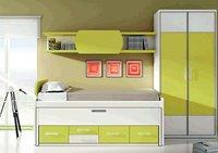 Tres dormitorios infantiles de Moblerone