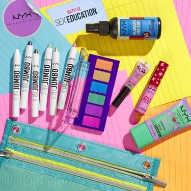 NYX Cosmetics lanza una colección de maquillaje en edición limitada de 'Sex Education' de lo más molona