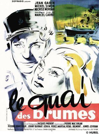 El amor en 32 películas (VI): 'El muelle de las brumas' de Marcel Carné