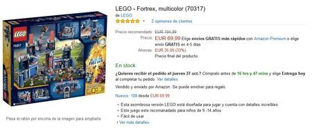 Fortaleza Lego Amazon
