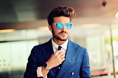 Moda para hombres: los espejos se adueñan de las gafas