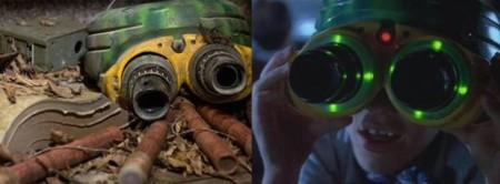 Jurassic World y Jurassic Park, gafas