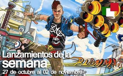 Lanzamientos de la semana en México del 27 de octubre al 2 de noviembre
