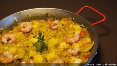 Receta de arroz con sepia
