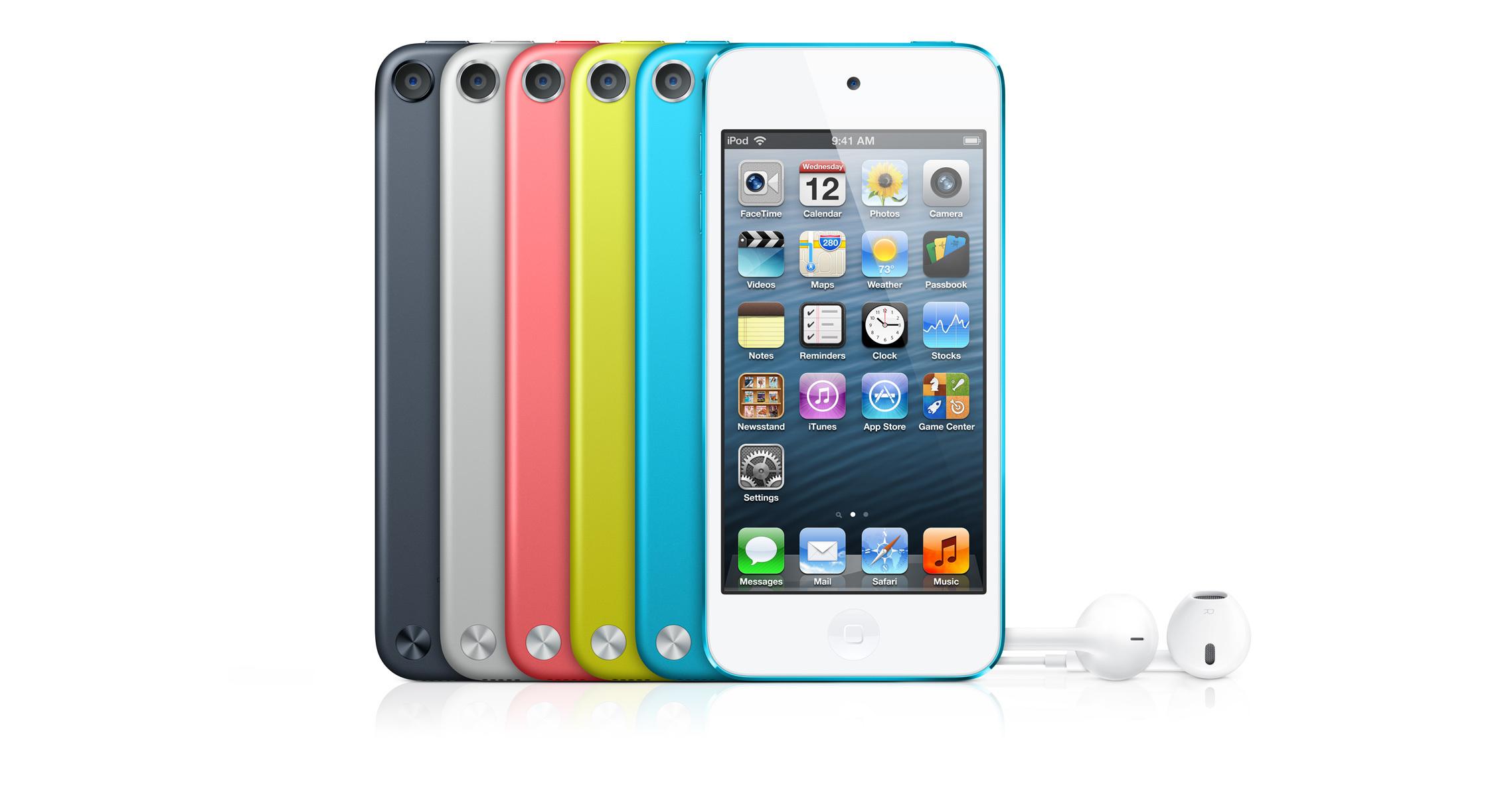 Foto de Nuevo iPod Touch 5G (1/25)