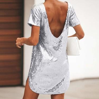 Este es el vestido de lentejuelas de Amazon por menos de nueve euros que podría salvarte en más de una ocasión