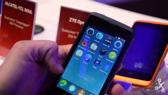 ZTE Open C, toma de contacto en vídeo