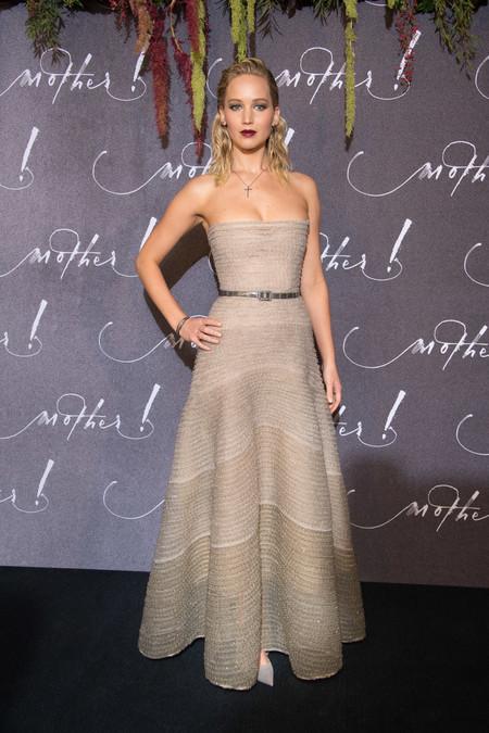 jennifer lawrence dior look estilismo outfit venecia
