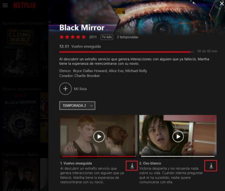 Netflix Windows 10 Modo Offline