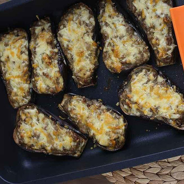 Berenjenas rellenas de carne: receta clásica para una comida muy completa
