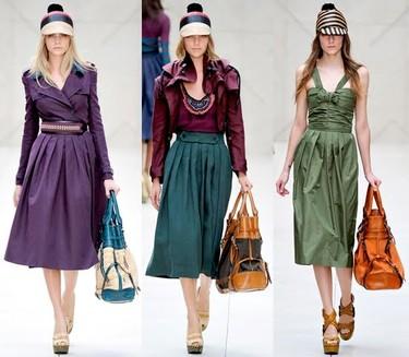 Tendencias Primavera-Verano 2012: ¿qué diferencia a una fashionista del resto? Una falda plisada