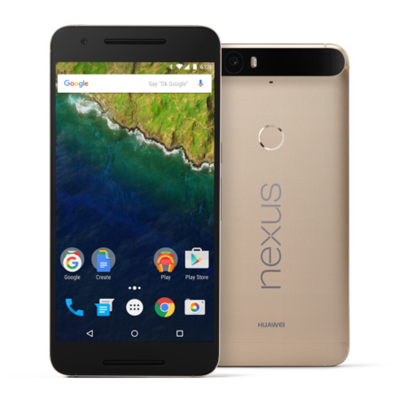 Nexus 6P llega a España en su versión más fabulosa: color oro mate