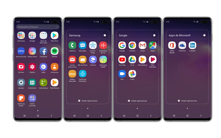 Samsung Galaxy S10plus Apps Fabrica