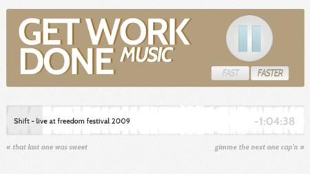 Ponte música electrónica de fondo para trabajar con Get Work Done Music