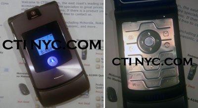 Motorola RAZR2 a la venta ya por 2800 dólares