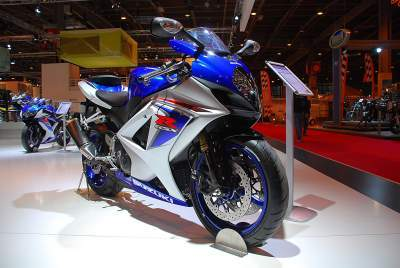 Salón de París: Suzuki GSX-R 1000 2008