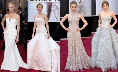 Oscar 2013: cuando el miedo a arriesgar afecta al color de tu vestido