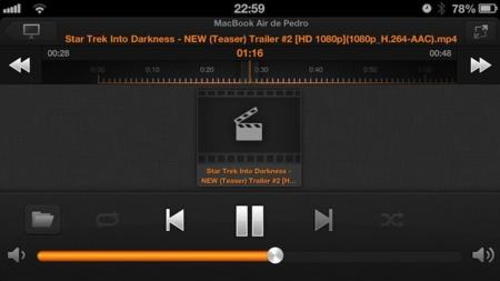 VLC Remote Especial Mac iOS APS