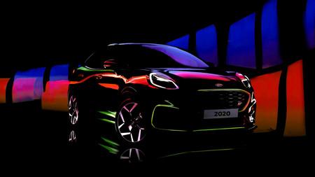 El Ford Puma ST se abre paso con este teaser: 200 hp para el hermanito del EcoSport