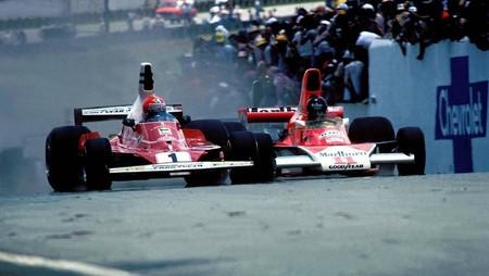 Lauda Hunt F1 1976