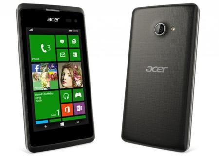 Acer Liquid M220, la vuelta a Windows Phone es con un teléfono de otra época
