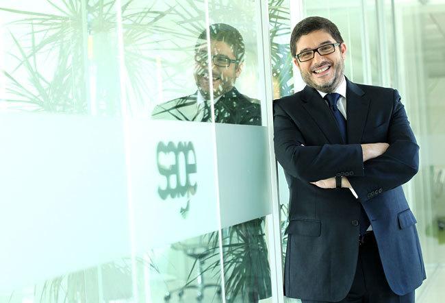 Santiago Solana, Consejero Delegado de Sage España