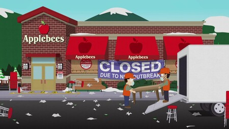 Applebees Restaurant In South Park S24e00 The Pandemic Special 1