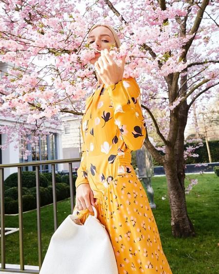 Clonados y pillados: este es el perfecto vestido de invitada de H&M que se inspira en uno de Self-Portrait