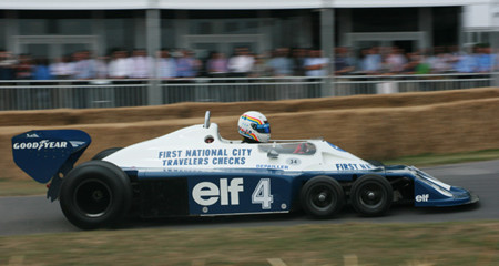 Tyrrell P34 At Goodwood 2010
