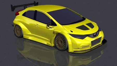 Así podrían ser los coches del Mundial de Turismos en 2014