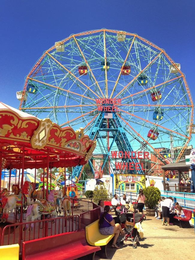La Wonder Wheel de Coney Island